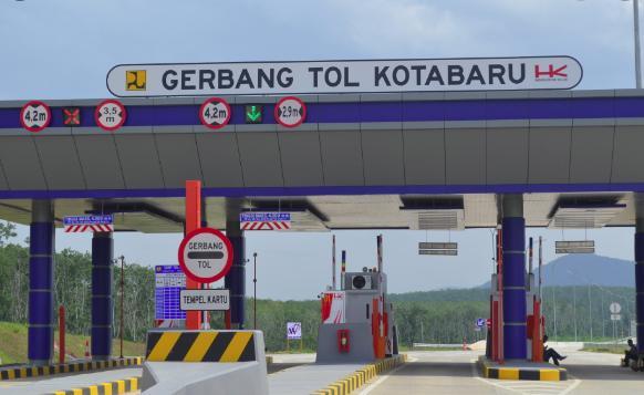 Tinggi Gerbang Tol Untuk Truk