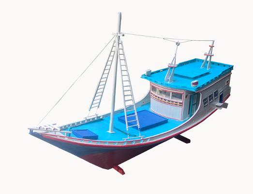 Bagian Bagian Perahu Nelayan