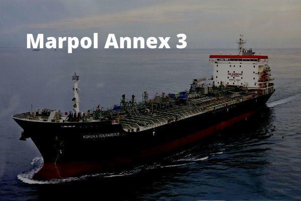 Marpol Annex 3