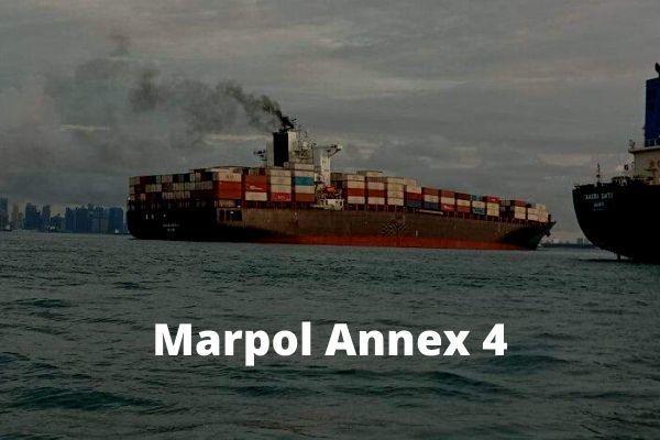 Marpol Annex 4