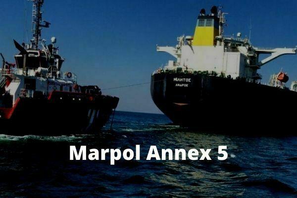 Marpol Annex 5