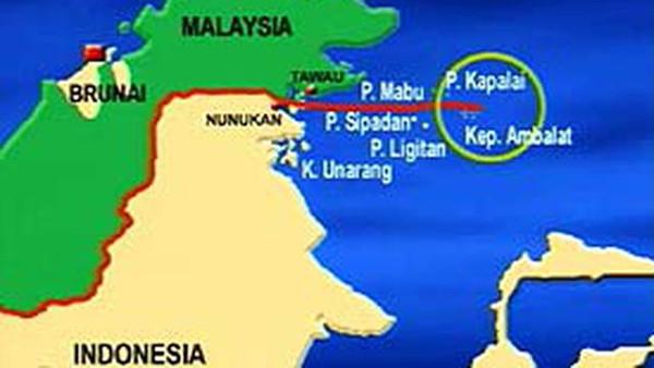 indonesia pernah bersengketa mengenai kepemilikan pulau ambalat dengan negara