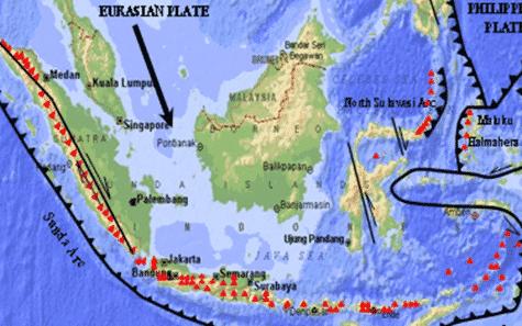 keuntungan dan kerugian letak geologis indonesia