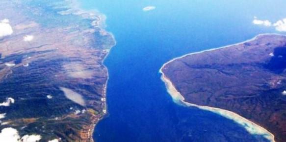 Bagian dari laut yang sempit diantara dua buah pulau dinamakan