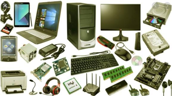 komponen fisik yang membentuk sistem komputer adalah