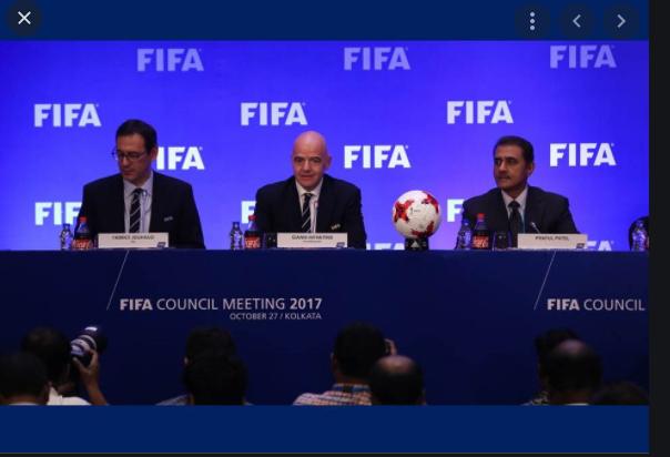 Induk organisasi sepak bola dunia adalah