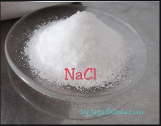senyawa garam dapur dinyatakan dengan lambang