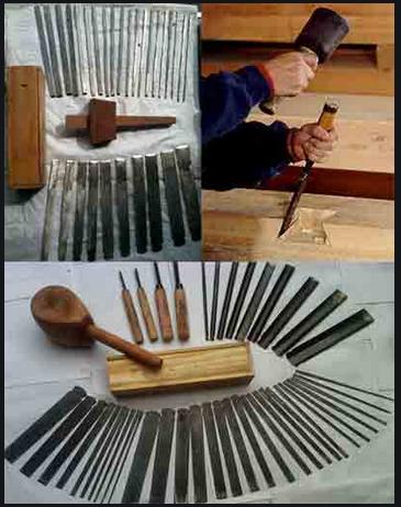 alat apakah yang digunakan untuk mengukir ragam hias diatas kayu