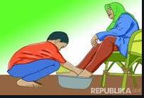 berbakti kepada orang tua akan mendatangkan keberkahan