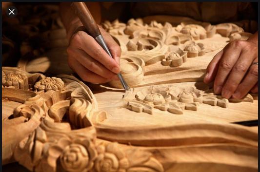 ukiran kayu jepara adalah contoh dari karya seni rupa