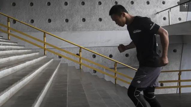 gerakan naik turun tangga berguna untuk melatih