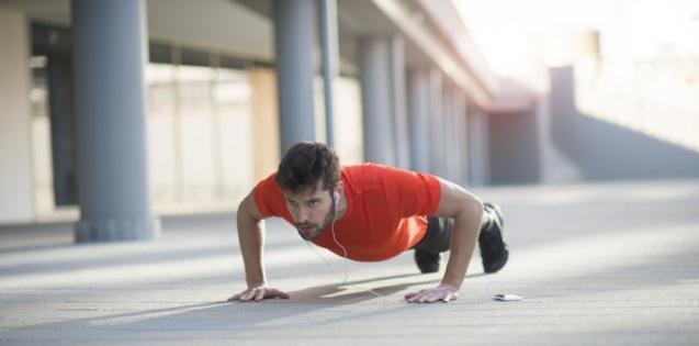 gerakan pus-up berguna untuk melatih