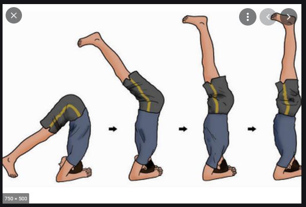 handstand adalah