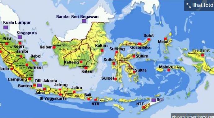 Berapakah luas wilayah indonesia