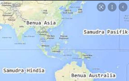 Indonesia diapit oleh dua benua sebutkan