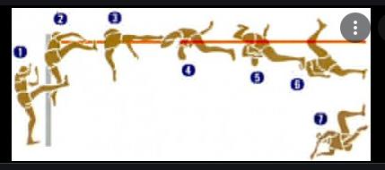 perbedaan gaya straddle dan gaya flop terletak pada saat berhadapan dengan mistar bila straddle adalah perut, maka flop