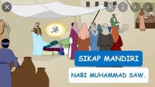 Dibawa ini sikap yang tidak dimiliki Nabi Muhammad Saw. adalah